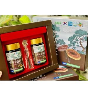 CAO LINH CHI NÚI HÀN QUỐC KOREAN LINGZHI GOLD 250g x 2 lọ
