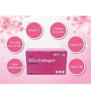 Collagen 365X Nhập Khẩu Chính Hãng Hàn Quốc Hộp 10 Chai x 50ml