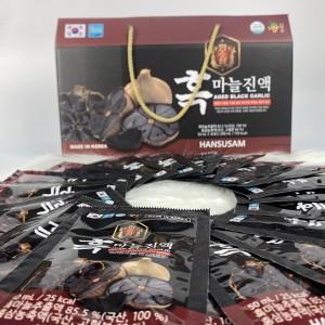 NƯỚC UỐNG TỎI ĐEN HÀN QUỐC- AGED BLACK GARLIC Hộp 30 gói x  50 ml